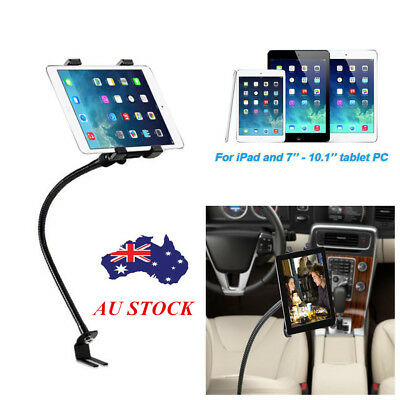 "Adjustable Car Floor Seat Gooseneck Mount Holder for iPad 7""-10.1"" Tablet PC AU"