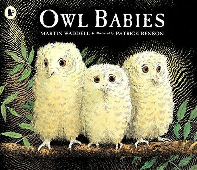 Owl Babies by Martin Waddell New Paperback Book