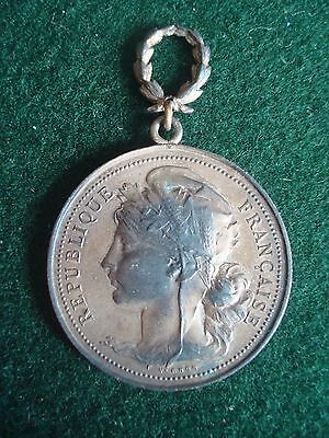 Early Republic Of France Gymnastics Sports Medal / Medallion