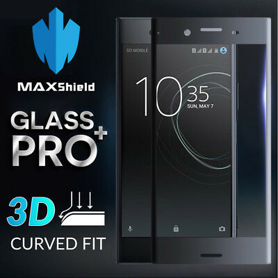 Curved Full Coverage Tempered Glass Screen Protector For Sony Xperia XZ Premium
