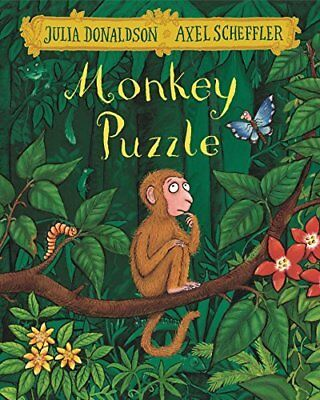 Monkey Puzzle by Julia Donaldson New Paperback Book