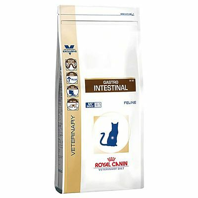 Royal Canin Veterinary Diet - Gastro Intestinal GI 32 Dry Cat Food 2kg 4kg 8kg