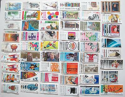 Hong Kong Used Stamps From 1978 to 1997 (87 Set,VF)