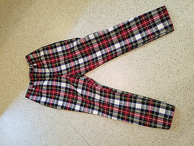 Vintage Collegiate by h.i.s. for her plaid wool women's pants small petite