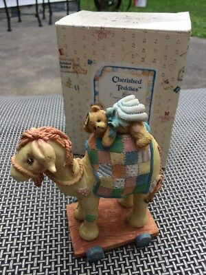Cherished Teddies Camel #904309 - Friends Like You Are Precious and True