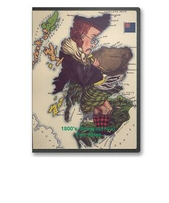 1800s Geographic Fun Atlas Humorous Caricature Satire Maps Of Europe on CD B81