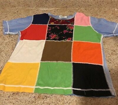 Sweet Vintage Girls Youth Teen Shirt From Sears JR Bazaar Size Large