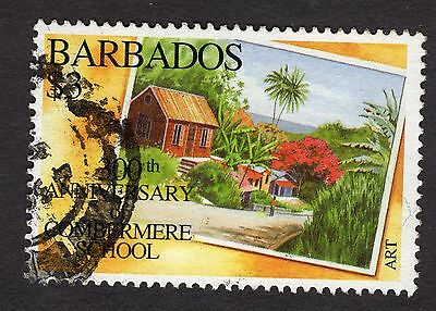 1995 Barbados $3 300th AQnniv Combermere School SG1056 FINE USED R32602 CAT £5