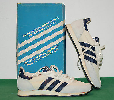 vintage adidas shoes SQUIRE S TRAINER cities 70 80 deadstock NOS BNWT tobacco