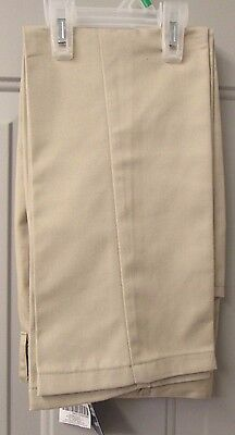 Highland Outfitters School Wear Boys Adjustable Pants Size 7 Khaki FREE SHIP