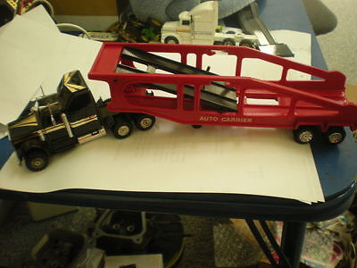 Soma toy auto transport truck & trailer