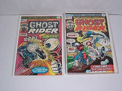 Ghost Rider (vol 1) issues 14 - 21 comics