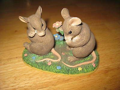"Charming Tails Mouse Mice Figurine ""I'm So Sorry"""