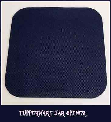BNIP TUPPERWARE RUBBER JAR OPENER X 3 NAVY BLUE - a must have item.