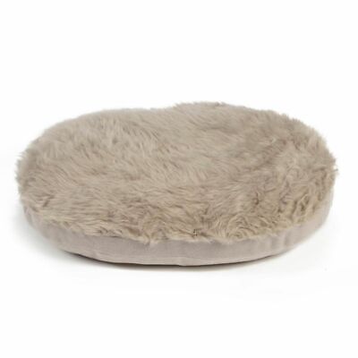 Beeztees Coussin Couchage oreiller pour chiens Curiva Multi-Taille Ovale Beige