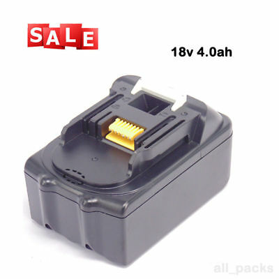 18V 4.0AH Battery For Makita BL1840 BL1830 BL1815 LXT Lithium Ion Cordless New