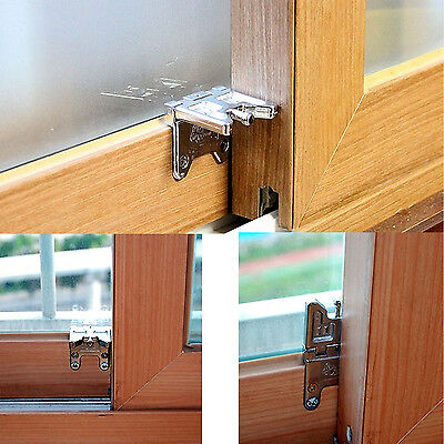 Kids Safe Security Sliding Window Folding LOCK Door Sash Lock Safe from burglar