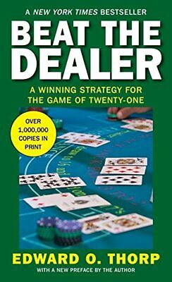 Beat the Dealer (Vintage) by Thorp, Edward Oakley Paperback Book The Cheap Fast