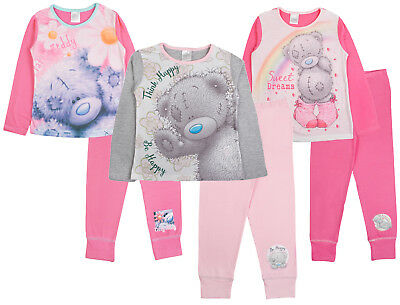 Kids Girls Pyjamas Me To You Tatty Teddy Long Pj's 2 Piece Set Childrens Size