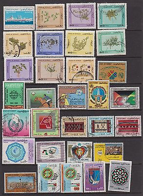KUWAIT 1981-1989 sixty-seven used inc. high value defs