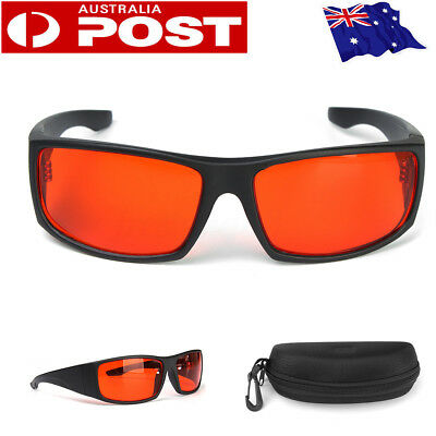 Men Women Colorblindness Corrective Glasses for Red Green Color Blind with Box