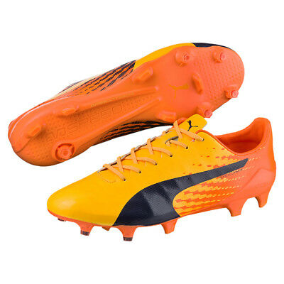 PUMA evoSPEED 17 SL S FG, orange/schwarz