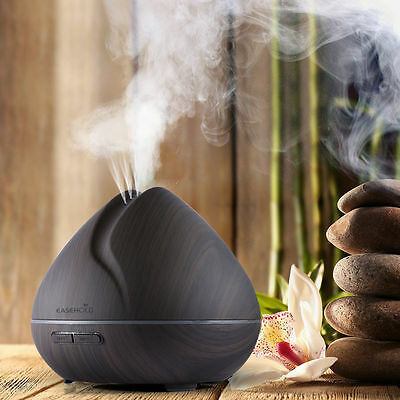 Ultrasonic LED Humidifier Essential Oil Aroma Diffuser Aromatherapy Purifier【AU】