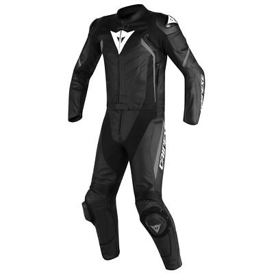 Dainese Avro D2 Black / Black / Anthracite Tall Two Piece Leather Suit All Sizes