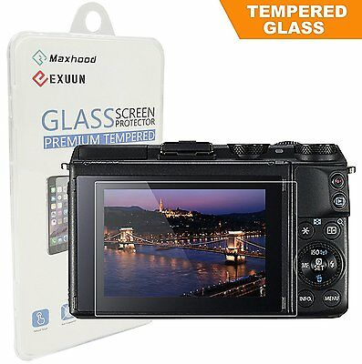 Canon EOS M3 / M5 / M10 / 100D / G1 X Mark II Tempered Glass Screen Protector