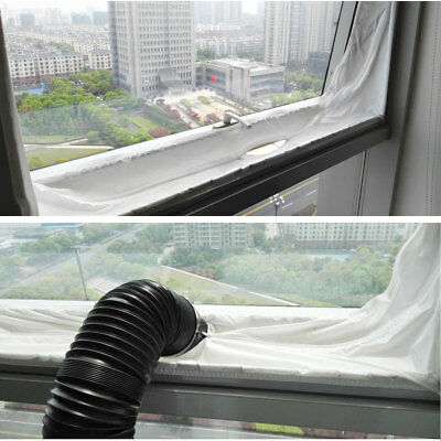 Air Lock Window Seal Home Room 400cm For Mobile Air Conditioners, Tumble Dryer