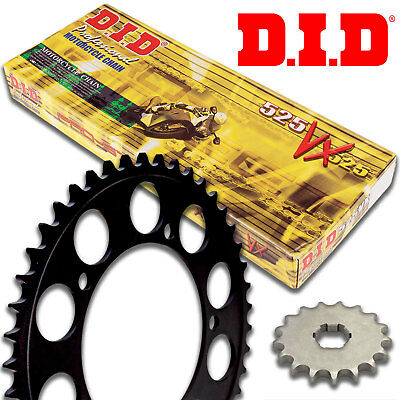 DID VX Motorcycle X-Ring Chain and Sprocket Kit Set 520.16 / 2014.50 / 525.124