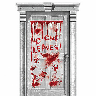 1.65m Haunted Halloween SURGERY HORROR Party Door Poster Banner Decoration