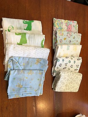 Muslin  Wraps - Baby - Good Condition