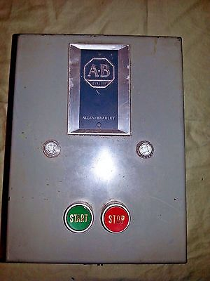 Allen Bradley 709-AAB1 Series L Automatic Starter Size 0 in Enclosure 709AAB1