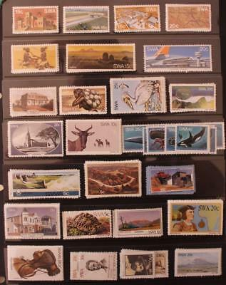 LOOK ! South West Africa SWA Namibia 44 Sets MNH 1976-1988 Catalogue £70 +