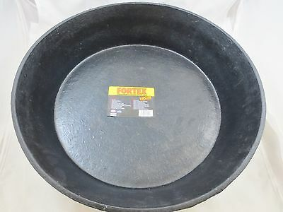 Fortex CR-350 3 Gal Fiber Molded Rubber Flexible Pan Livestock Supply FREE SHIP