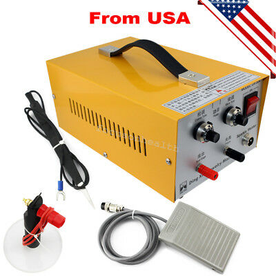 USPS】Pulse Sparkle Spot Welder Electric Jewelry Welding Machine Gold Silver 2017