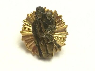 Rare Vintage Masonic Shriner Free And Accepted Masons Lapel Pin