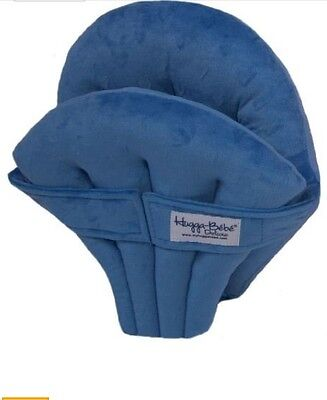 Hugga Bebe Deluxe Cushioned Support Seat Cushion High Chairs Jumpers Blue Soft