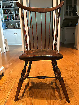 1780 Very Stylish Period Windsor Fanback Chair Hartford, CT
