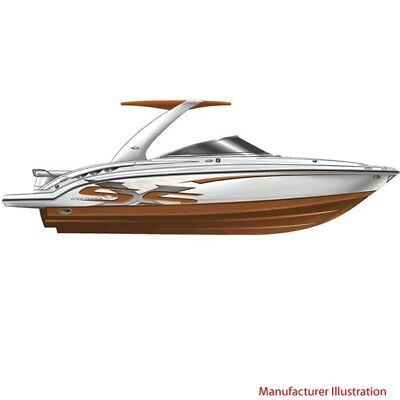 Chaparral Boat Hull Graphic 14.00382 | SSX 276 Copper (4 PC Set)