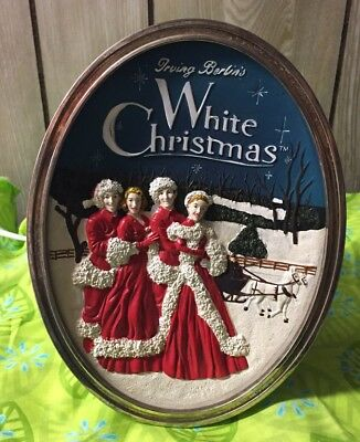 Irving Berlin's White Christmas 2004 Wallace Nightlight Lamp Bing Crosby Movie