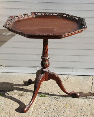 Platter Style Serving Table