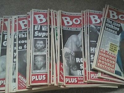 Boxing News   Full Year  1993  ( 52  Issues