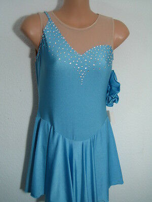 SALE M14  Kürkleid Skating dress  Eiskunstlaufkleid Gr. 38  NEU