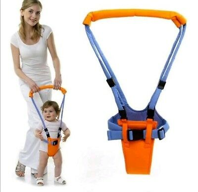 New Safety Baby Toddler Walking Assistant Learning Belt Harness Strap Orange