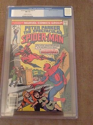 Peter Parker The Spectacular Spider-Man #1 -Cents,cgc 9.2,nm-