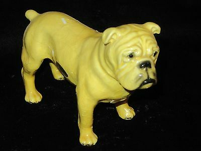 "Vintage Mortens Studio Boxer Bulldog Figurine - 4.5"" - Royal Design - See Desc."