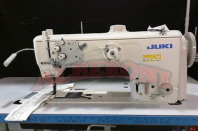 Juki LU 2810 SS Complete Stand & Servo Motor w/ NEW SINGER  STYLE FEET