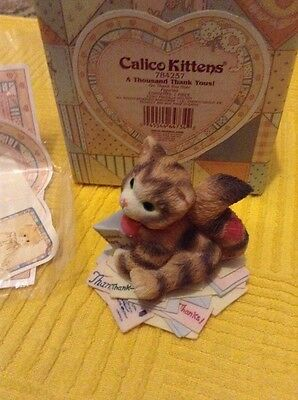"""CALICO KITTENS """"A THOUSAND THANK YOUS!"""". New In Box"""